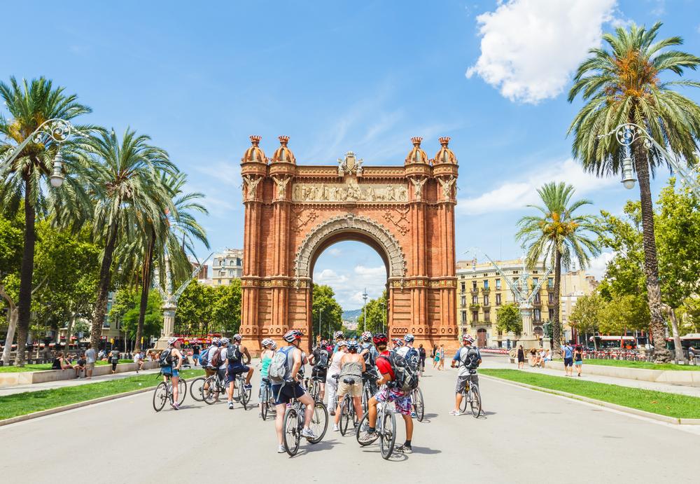 Fietstocht Barcelona