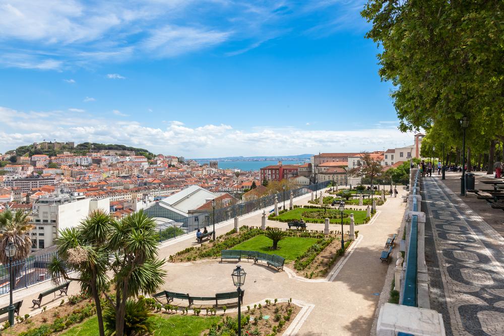 Portugal Lissabon Miradouro