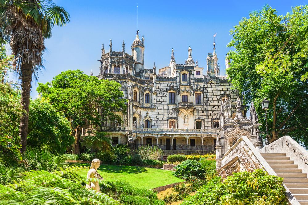 Portugal Lissabon Quinta da Regaleira