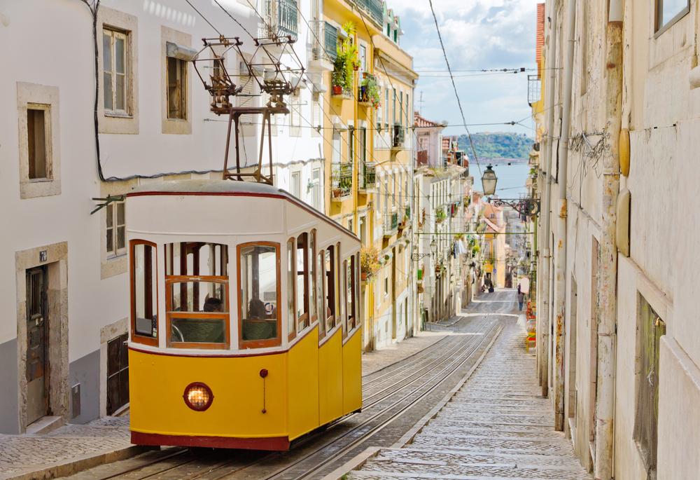 Portugal Lissabon Tram