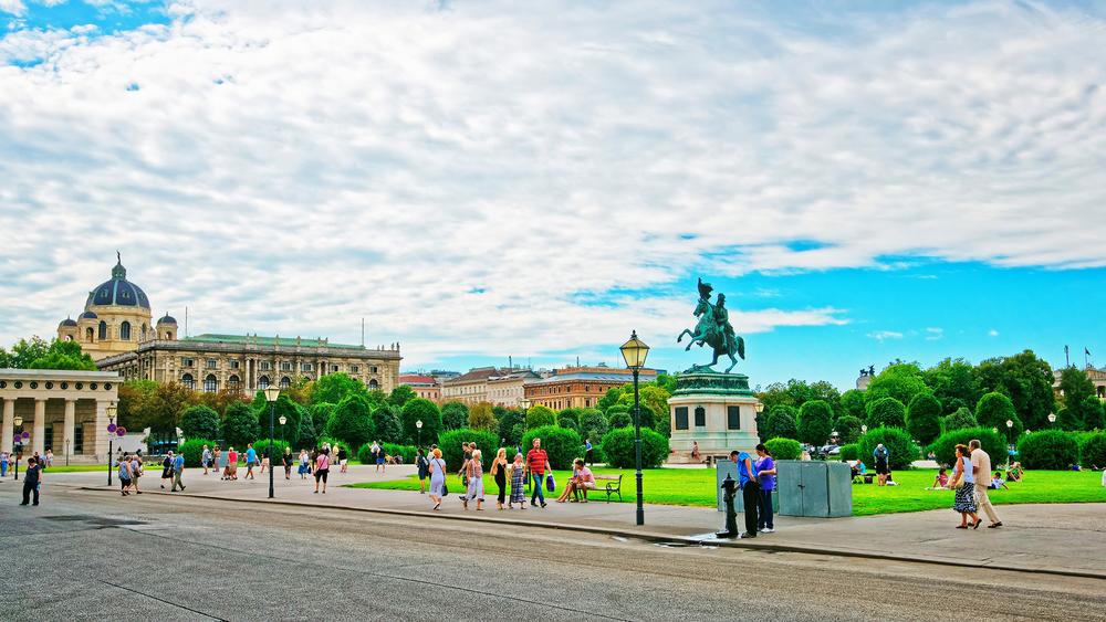 Oostenrijk Wenen Heldenplatz