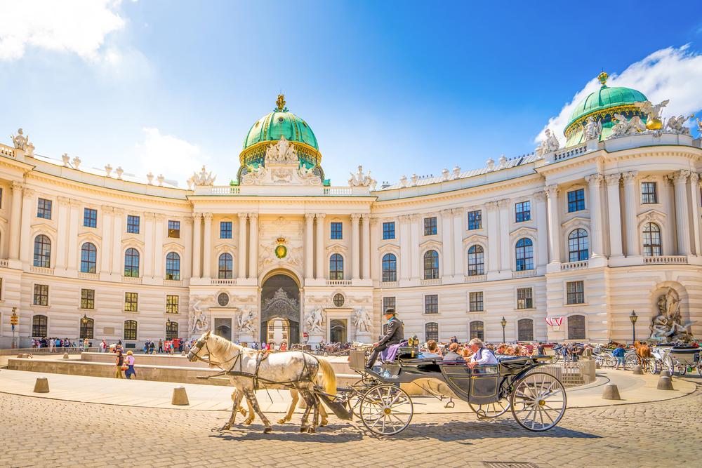 Oostenrijk Wenen Hofburg