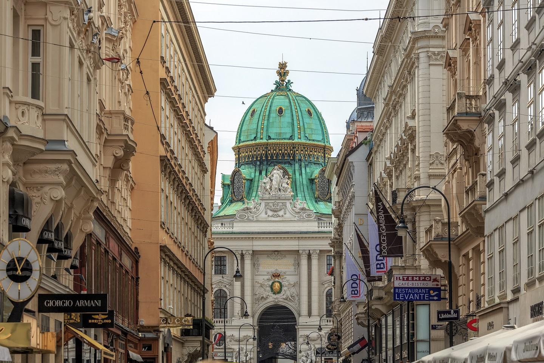Oostenrijk Wenen Kohlmarkt