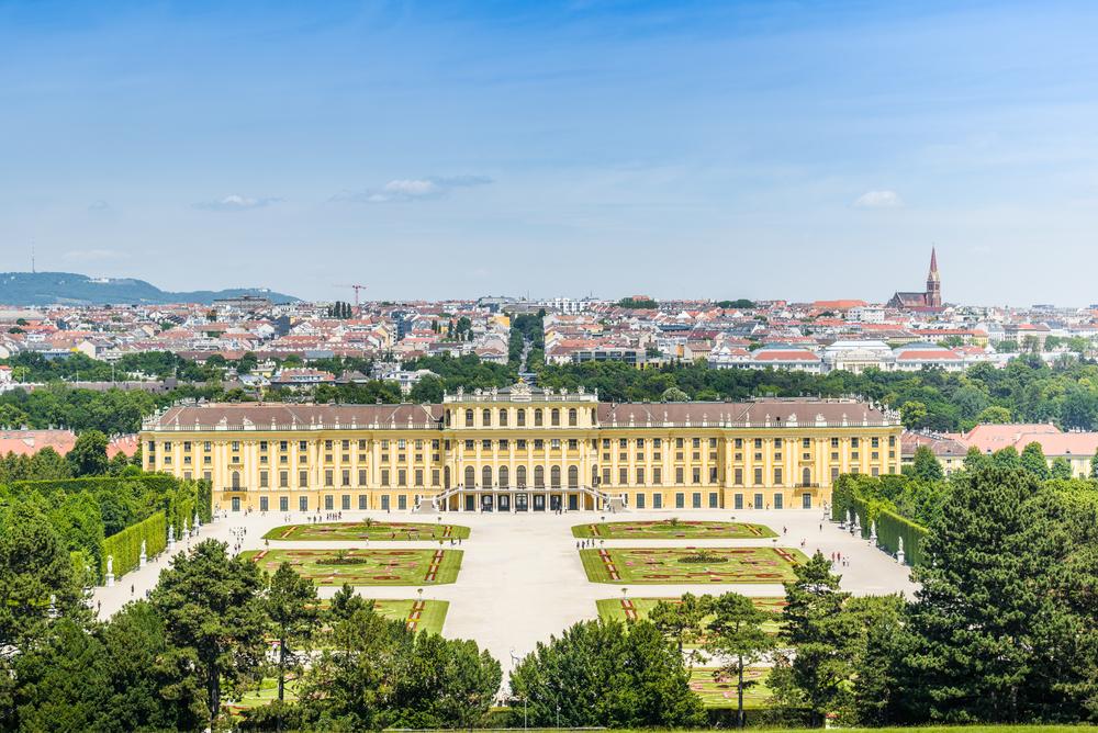 Oostenrijk Wenen Schönbrunn
