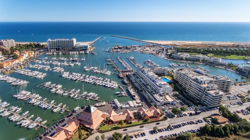 De grootste haven van de Algarve in Vilamoura