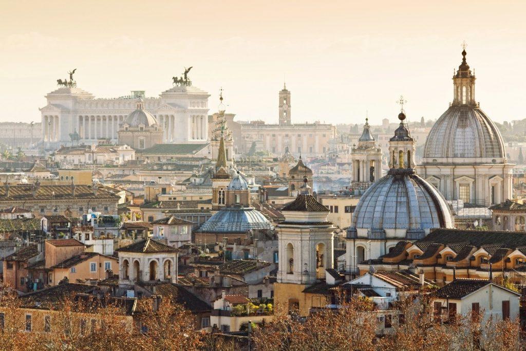 Zonnige steden - Rome