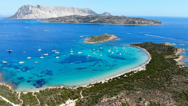 Italië Sardinië stranden