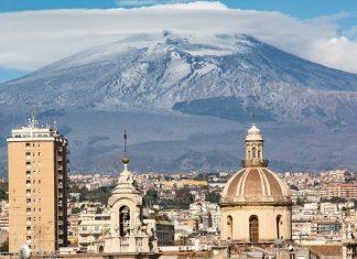 Italie Sicilie Etna beklimmen