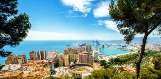 Malaga From a hill
