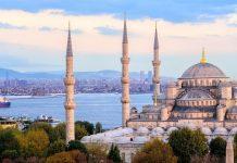 Istanbul Hagia Sophia twee continenten