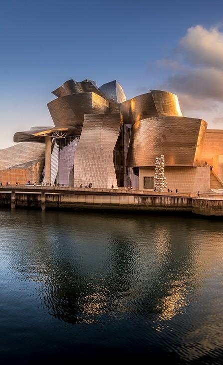Guggenheim museum Bilbao Spanje