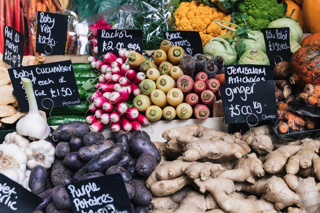 Londen foodmarket