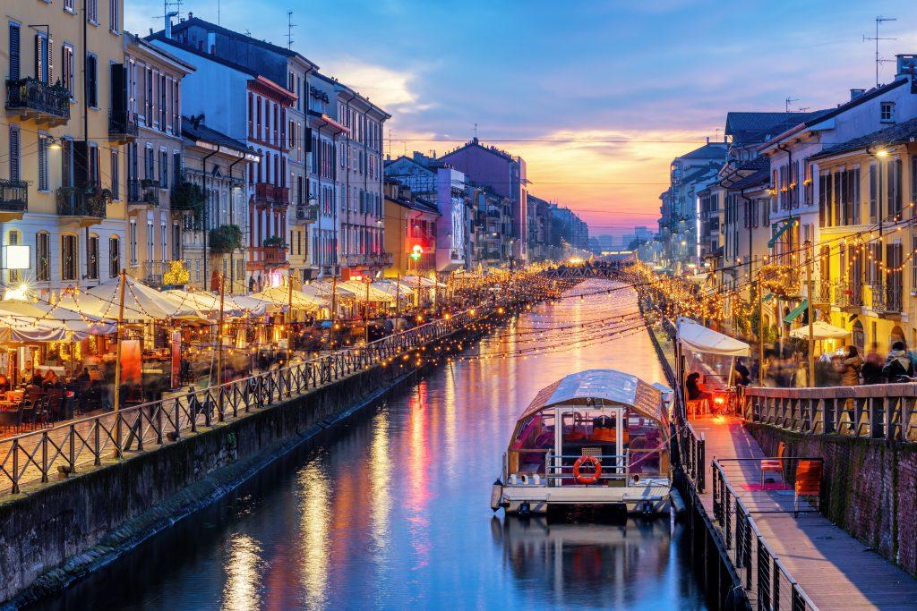 Naviglio   Leukste Wijken van Milaan