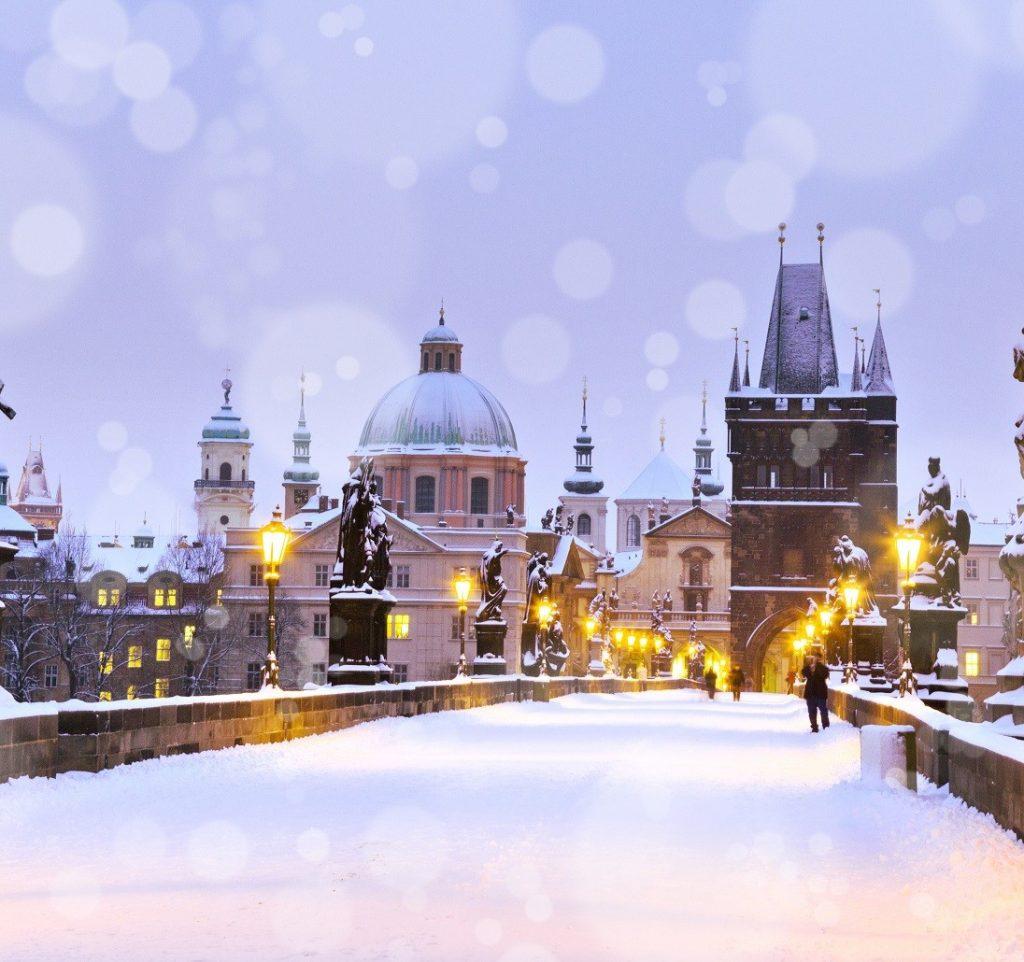 Praag winter
