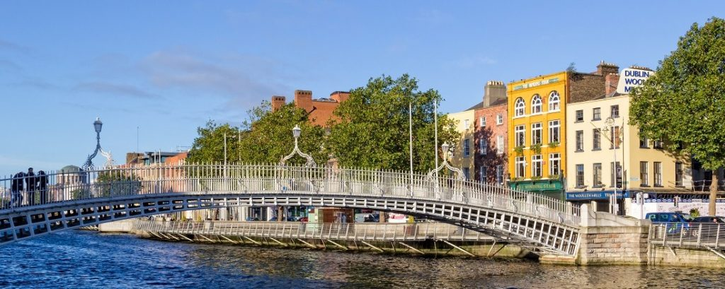 Dublin Liffey brug