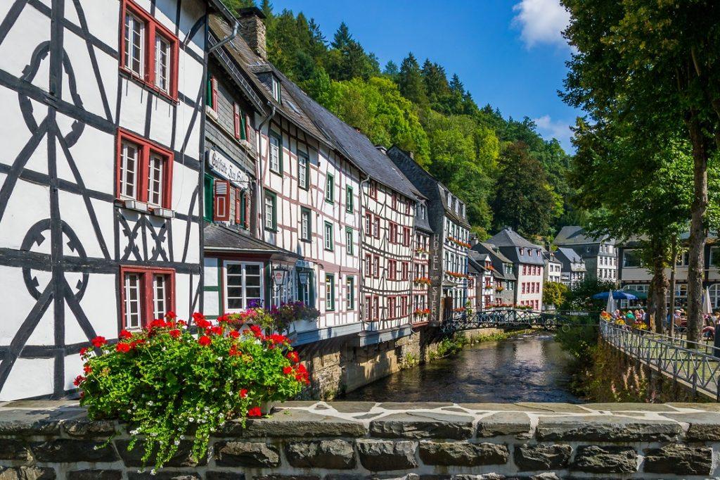 Monschau   Plekken in de Eifel