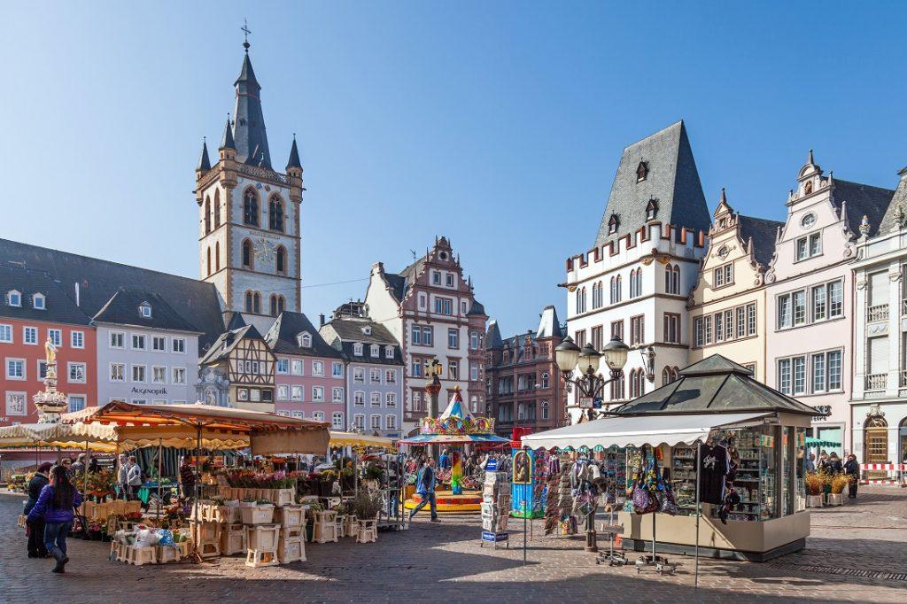 Trier   Plekken in de Eifel